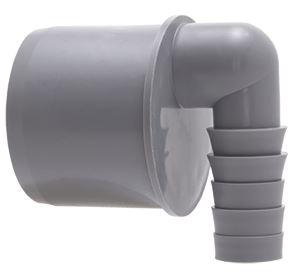 Koncovka pro připojení hadice - boční DN 50/19 mm