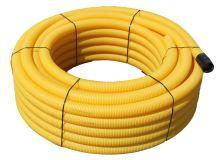 Drenáž flexibilní DN 125/50 m 531.85.125 děrovaná PVC