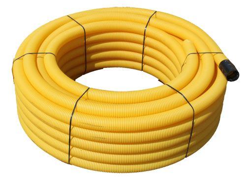 Drenáž flexibilní DN 125/50 m 531.85.125 děrovaná