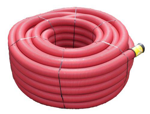 Kabelová chránička KXP-PEG  90/75 ,  červená 50m