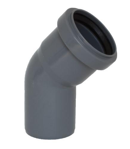 HTB koleno DN  75 - 45°