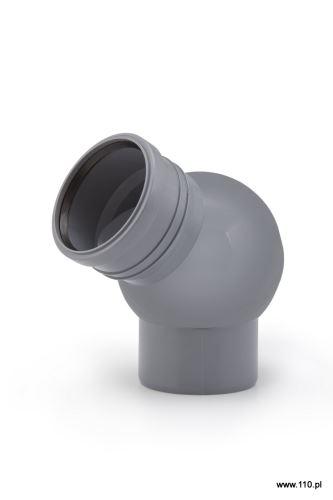 HTB nastavitelné koleno s kloubem 110/0° -90°